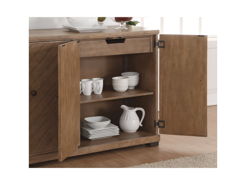 Flexsteel Wynwood Collection CarmenDining Buffet