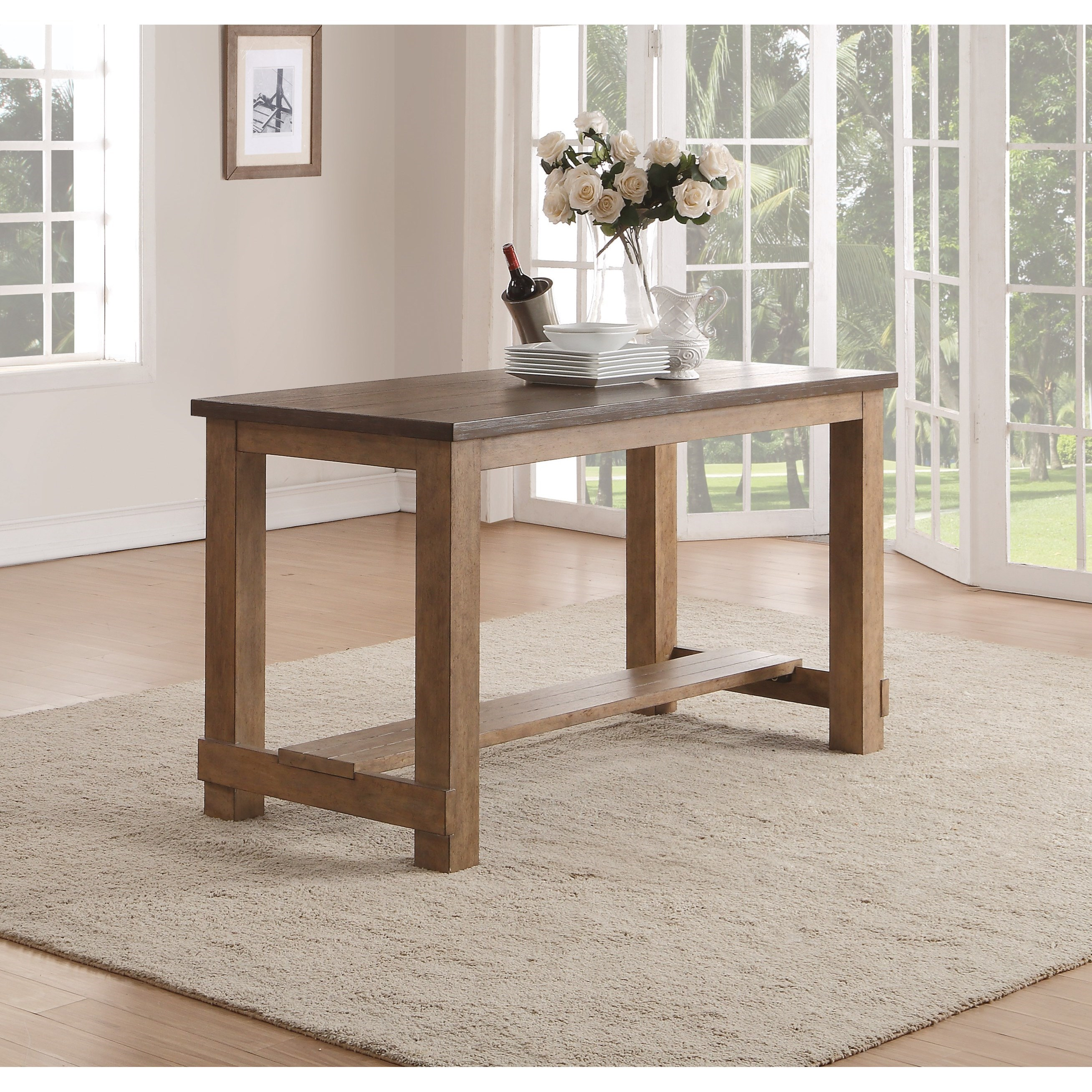 Merveilleux Flexsteel Wynwood Collection Carmen Contemporary Counter Height Table