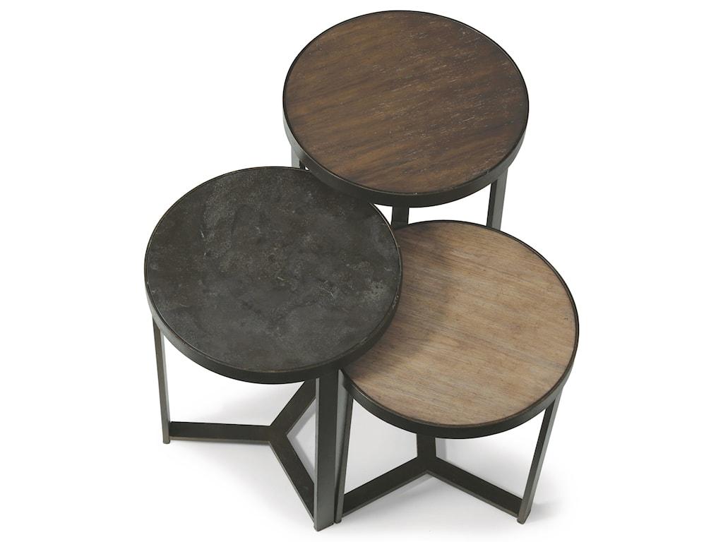 Flexsteel Wynwood Collection CarmenMedium Bunching Table