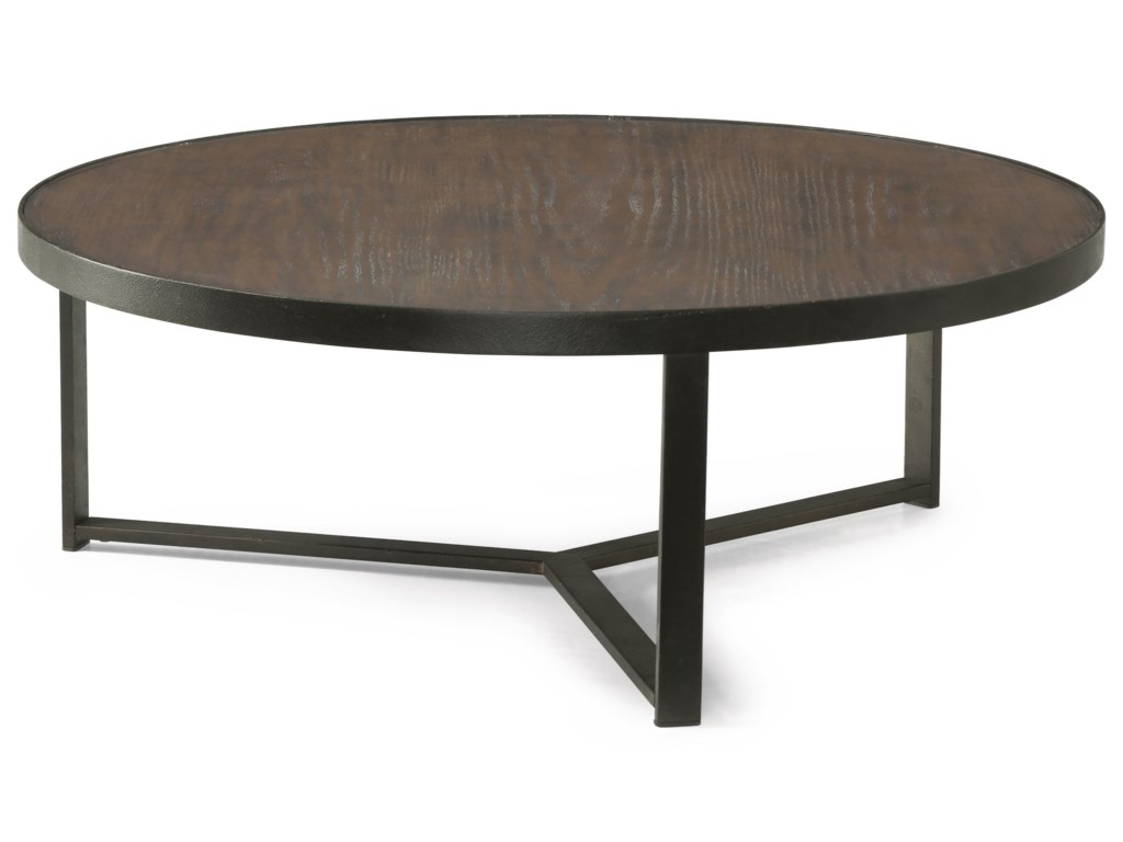 Wynwood, A Flexsteel Company CarmenLarge Round Bunching Cocktail Table