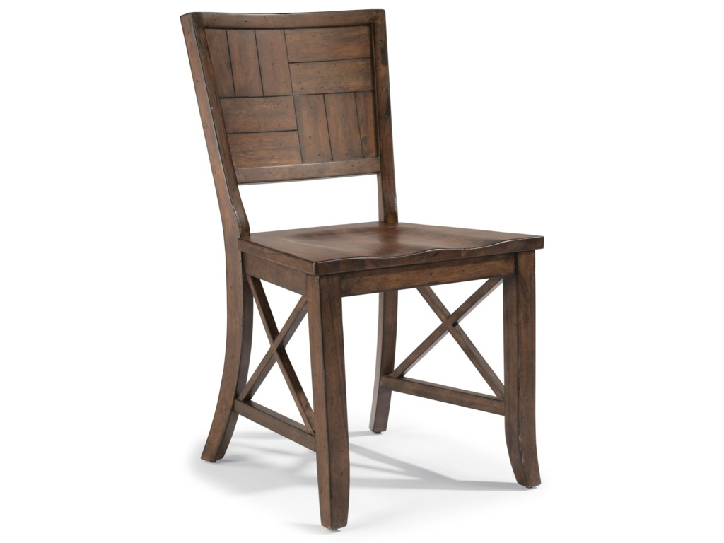 Flexsteel Wynwood Collection CarpenterSide Chair