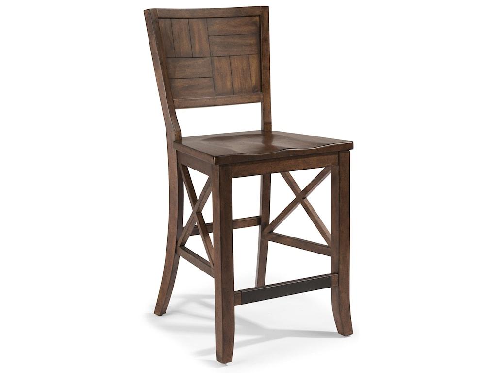 Flexsteel Wynwood Collection CarpenterCounter Chair