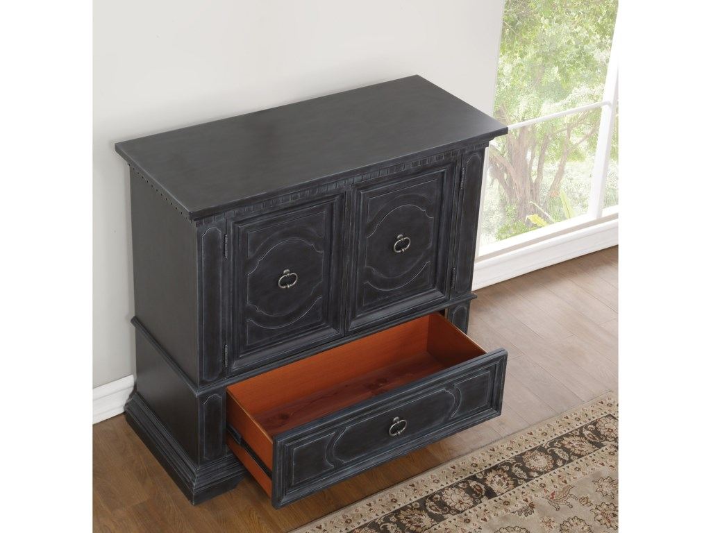 Flexsteel Wynwood Collection CharlestonMedia Chest