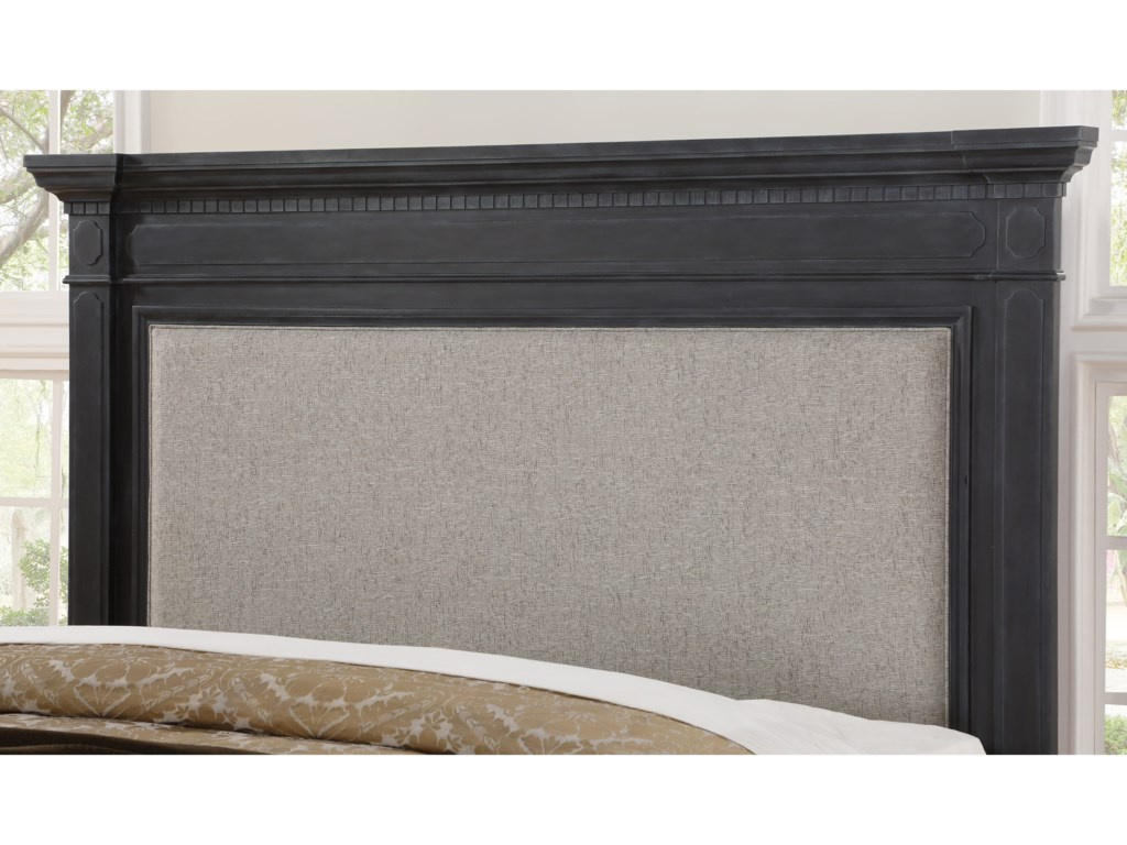 Flexsteel Wynwood Collection CharlestonQueen Upholstered Bed