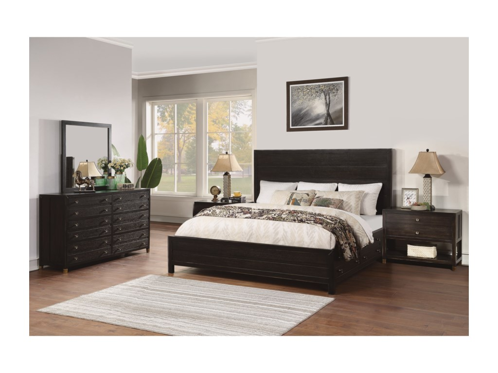 Flexsteel Wynwood Collection CologneCalifornia King Bedroom Group