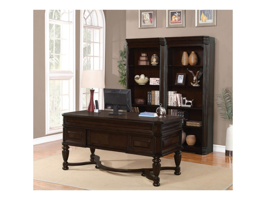 Flexsteel Wynwood Collection EastchesterTraditional Bookcase