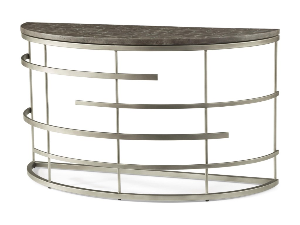 Flexsteel Wynwood Collection HaloSofa Table
