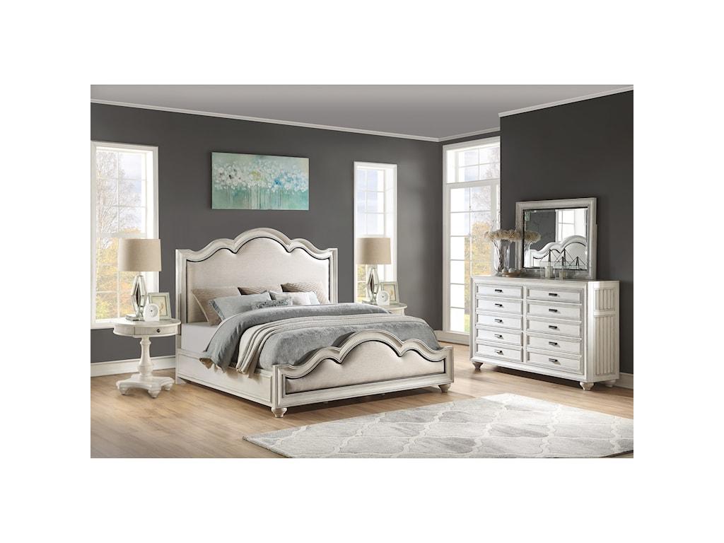 Flexsteel Wynwood Collection HarmonyCalifornia King Bedroom Group