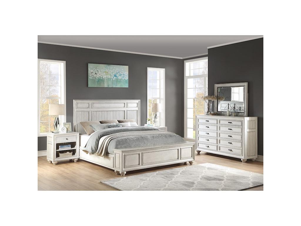 Flexsteel Wynwood Collection HarmonyQueen Bedroom Group