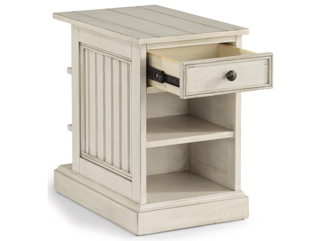 Flexsteel Wynwood Collection HarmonyChairside Table