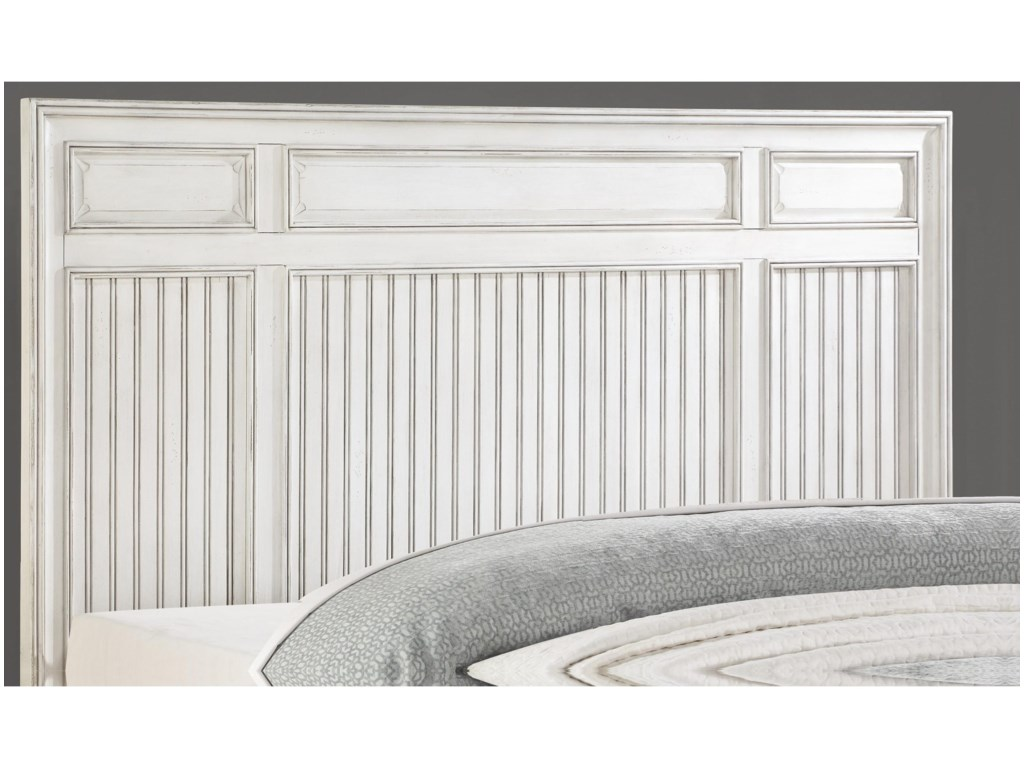 Flexsteel Wynwood Collection HarmonyKing Panel Storage Bed
