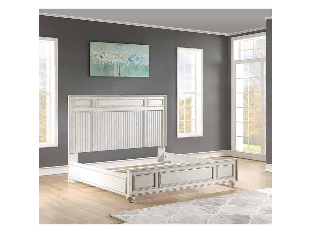 Flexsteel Wynwood Collection HarmonyQueen Panel Bed