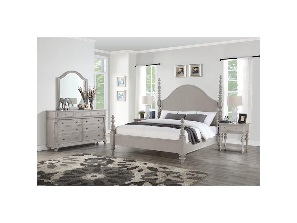 Flexsteel HeirloomKing Bedroom Group