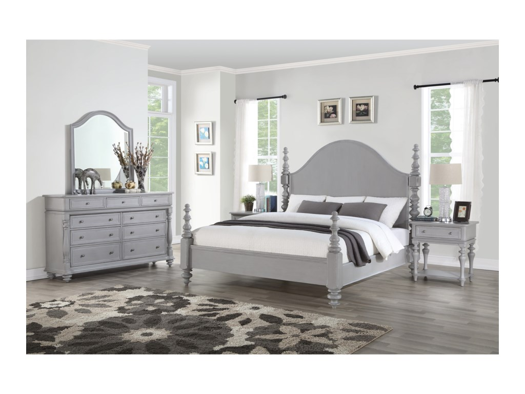 Flexsteel HeirloomCal King Bedroom Group