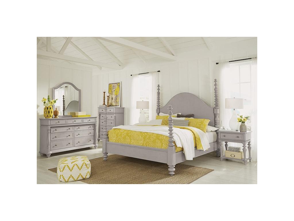 Flexsteel HeirloomCal King Bedroom Group