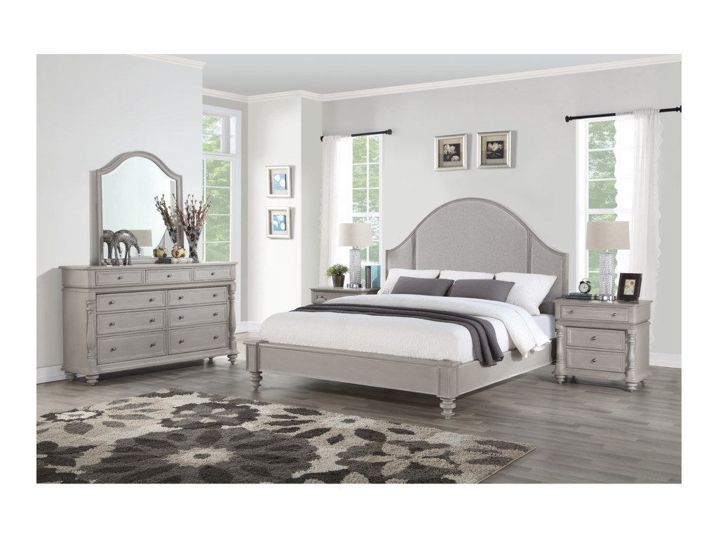 Flexsteel HeirloomQueen Bedroom Group