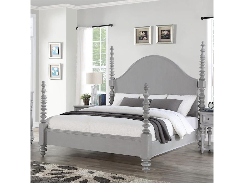 Flexsteel HeirloomCal. King Poster Bed