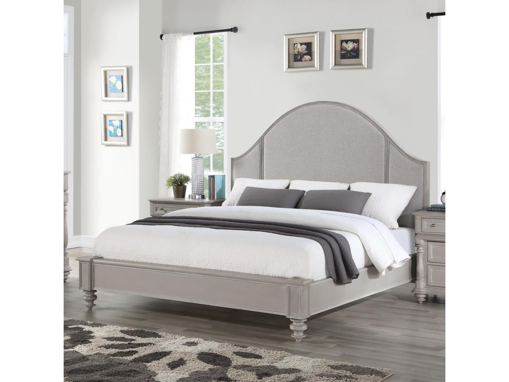 Flexsteel HeirloomCal King Upholstered Bed
