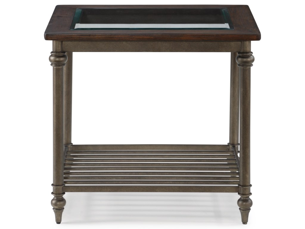 Flexsteel Wynwood Collection HeraldLamp Table