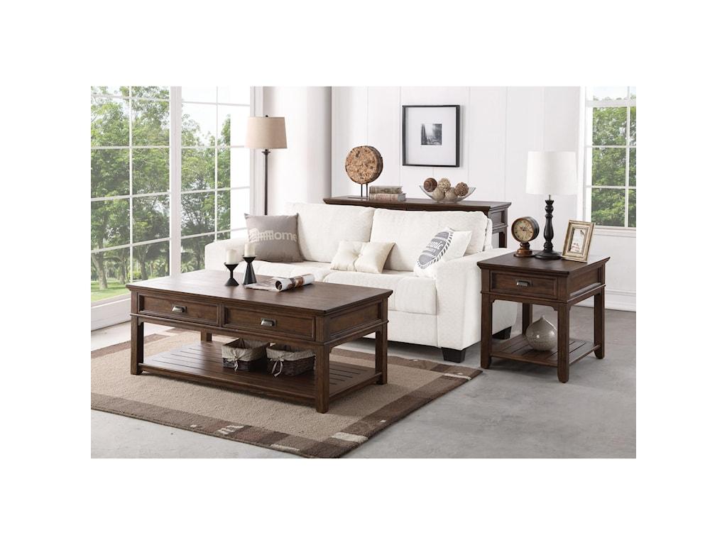 Flexsteel HeraldCocktail Table