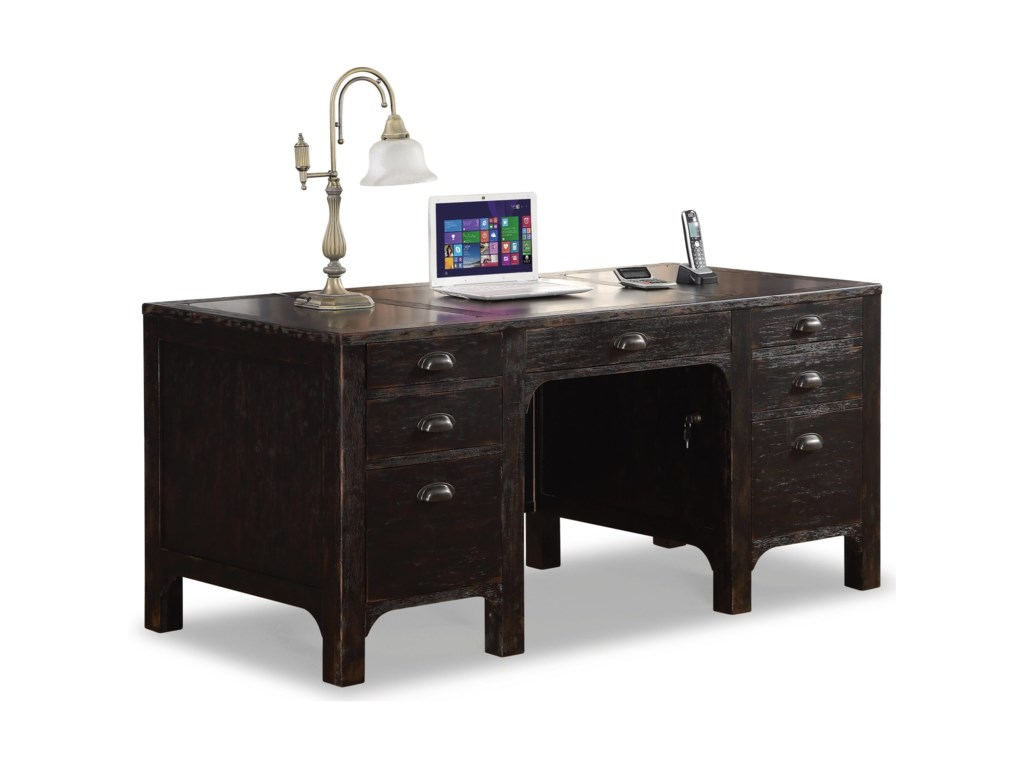 Flexsteel Wynwood Collection HomesteadExecutive Desk