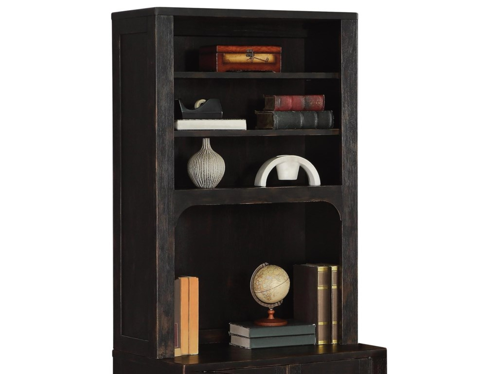Flexsteel Wynwood Collection HomesteadBookcase Hutch