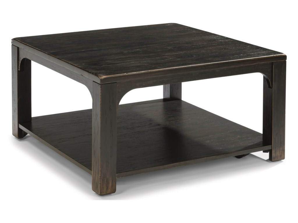 Flexsteel Wynwood Collection HomesteadSquare Cocktail Table