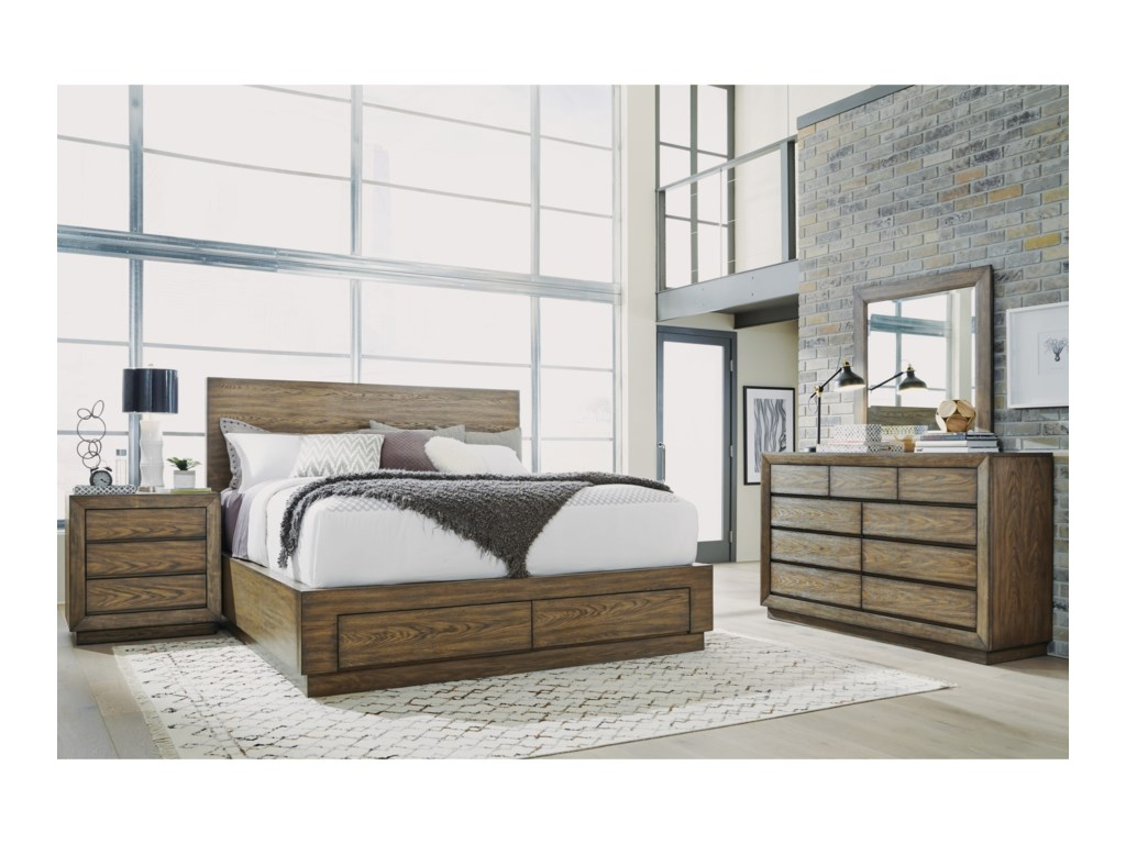 Flexsteel Wynwood Collection MaximusCalifornia King Bedroom Group