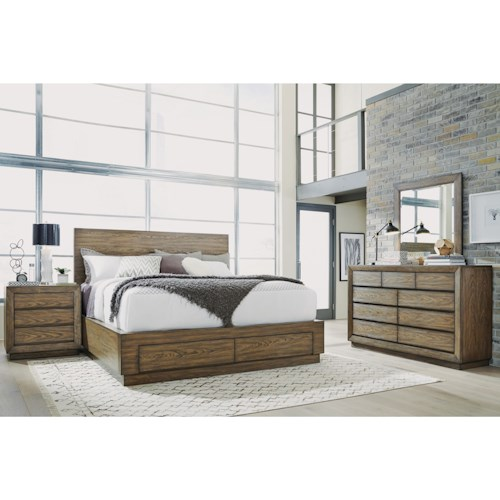 Flexsteel Wynwood Collection Maximus Bedroom Group Casual California King Bedroom Group