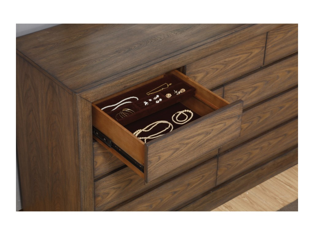 Flexsteel Wynwood Collection Maximus Casual 9 Drawer Dresser ... on
