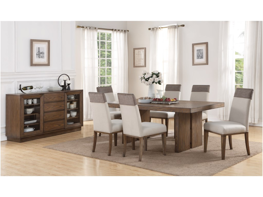 Flexsteel Wynwood Collection MaximusCasual Dining Room Group