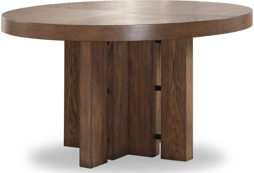 Flexsteel Wynwood Collection Maximus Casual Round Dining ...