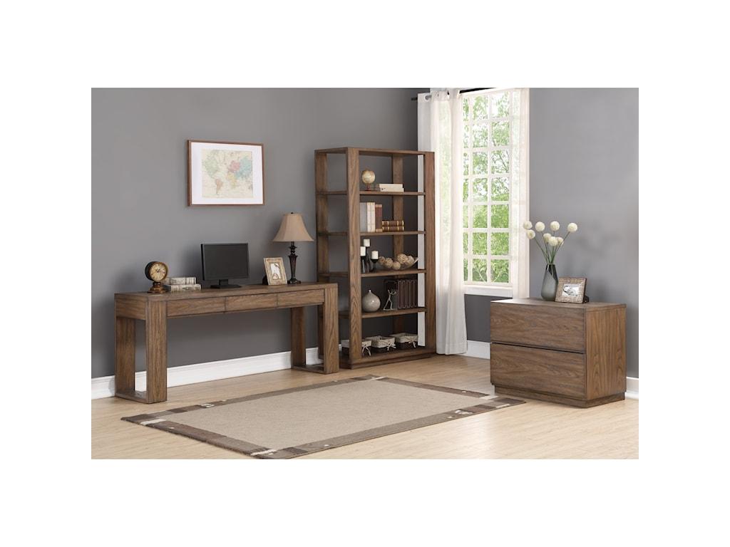 Wynwood, A Flexsteel Company MaximusDouble Pedestal Desk