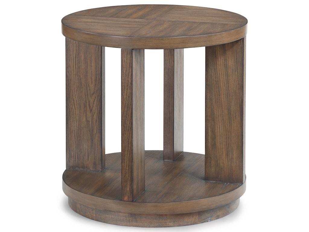 Flexsteel Wynwood Collection MaximusLamp Table