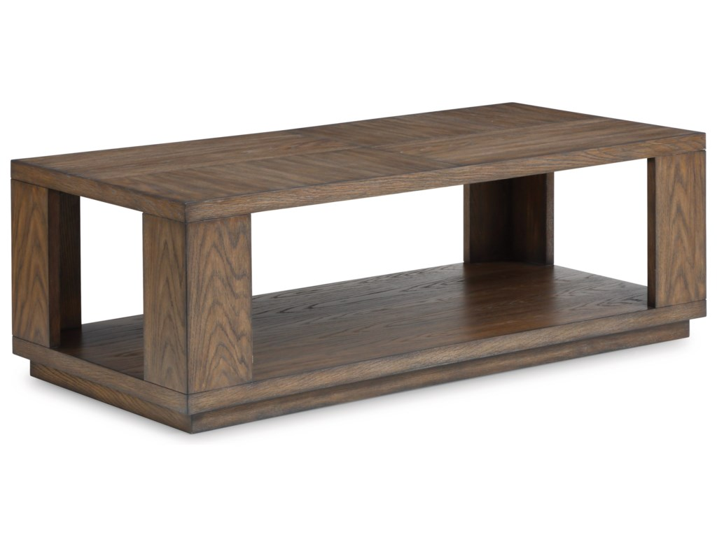 Flexsteel Wynwood Collection MaximusRectangular Cocktail Table