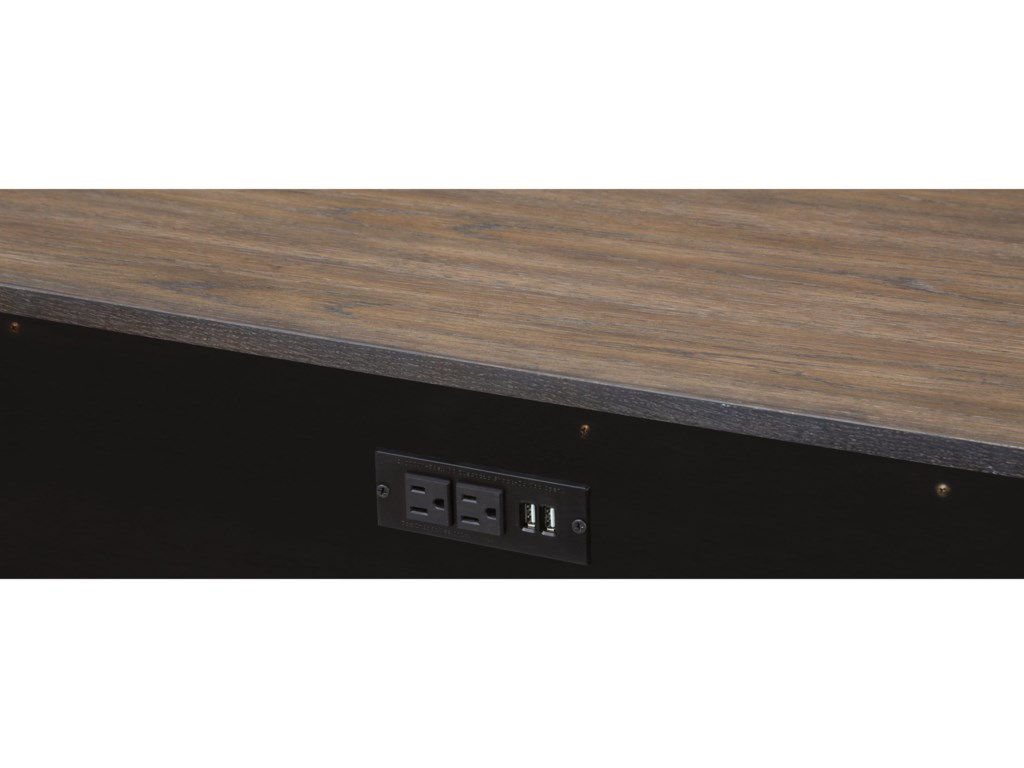 Flexsteel Wynwood Collection MaximusEntertainment Console