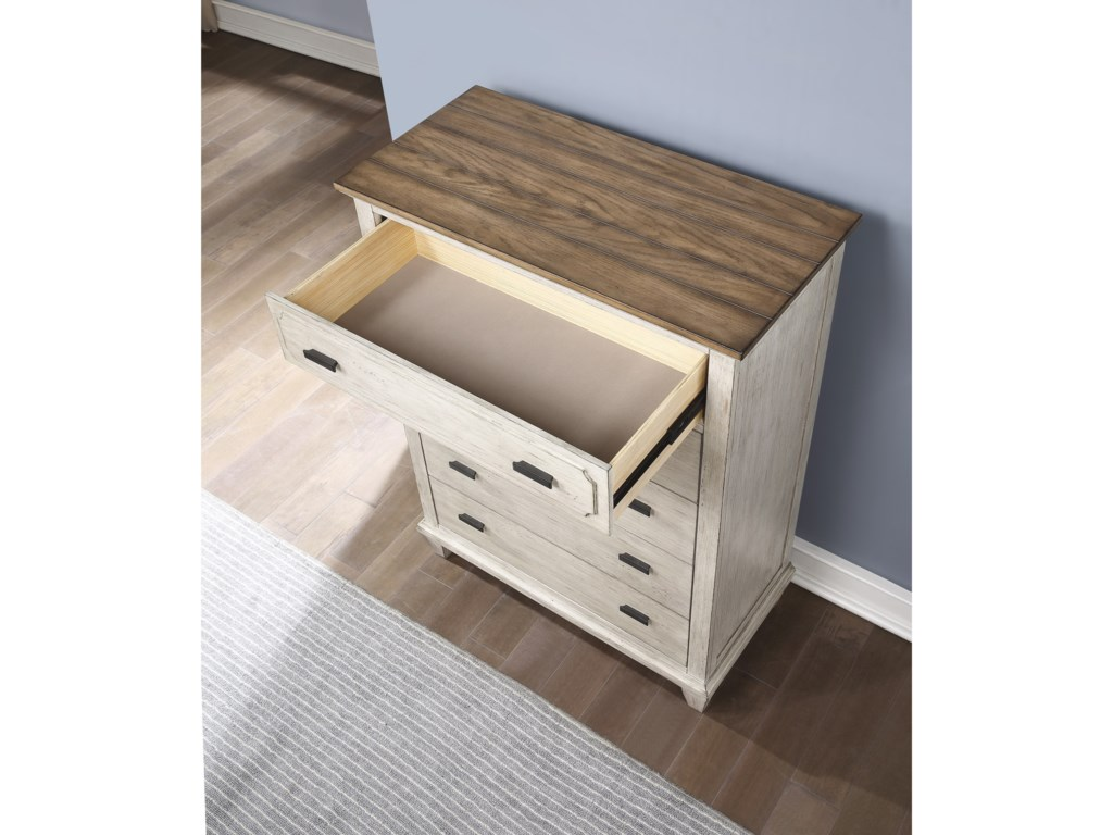 Flexsteel Wynwood Collection NewportChest of Drawers