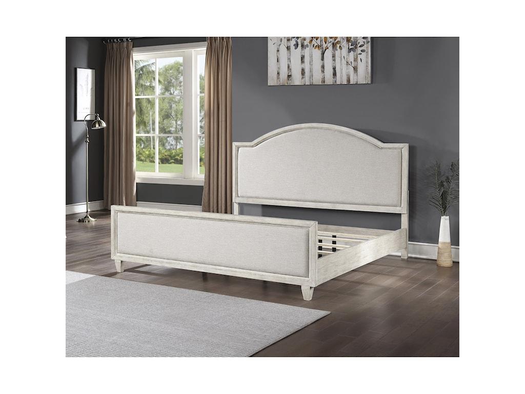 Flexsteel Wynwood Collection NewportQueen Upholstered Bed