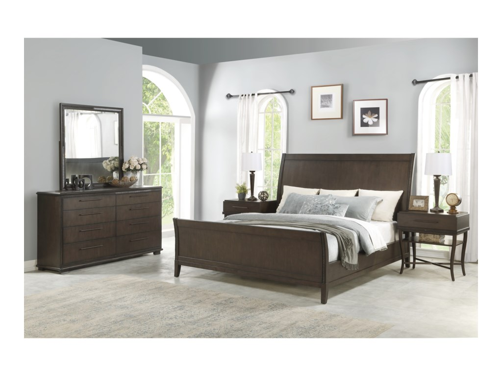 Flexsteel PennyQueen Bedroom Group