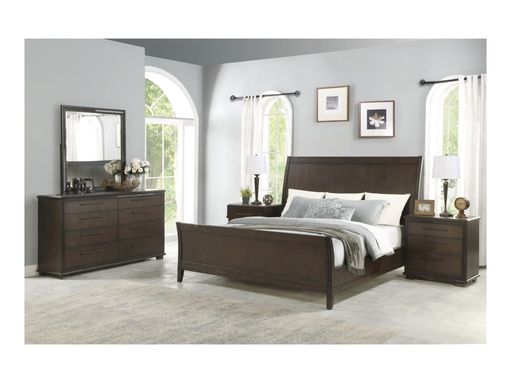 Flexsteel PennyKing Bedroom Group