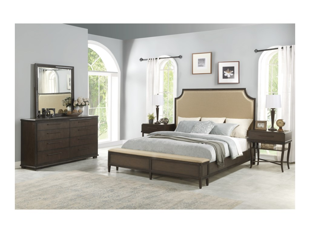 Flexsteel PennyCal King Bedroom Group