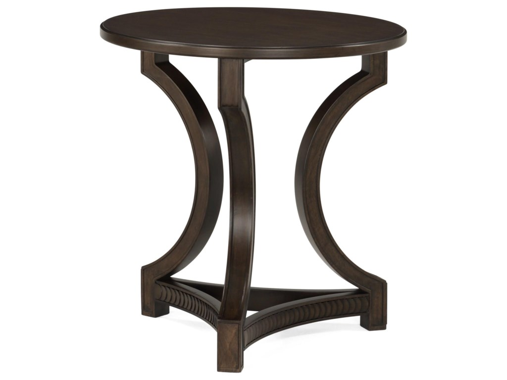 Flexsteel PennyRound End Table