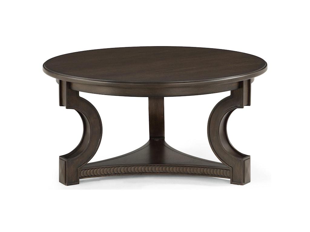 Flexsteel PennyRound Cocktail Table