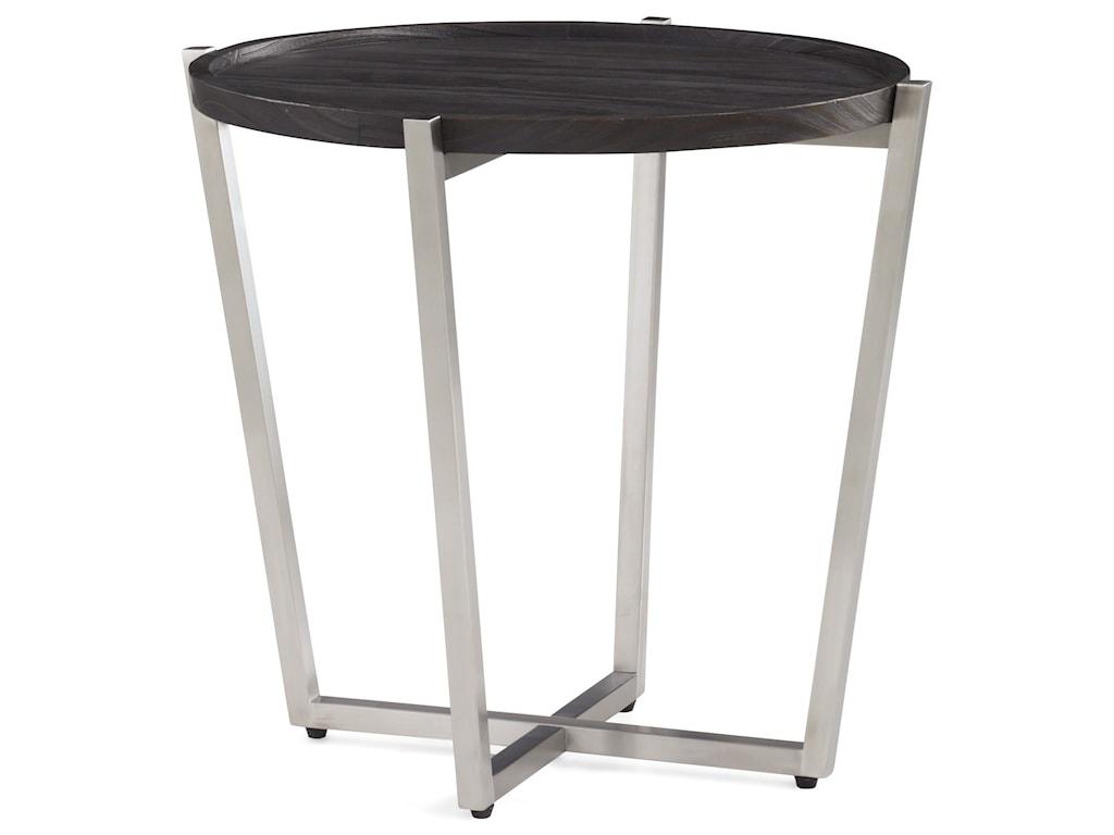 Flexsteel PlatformRound End Table