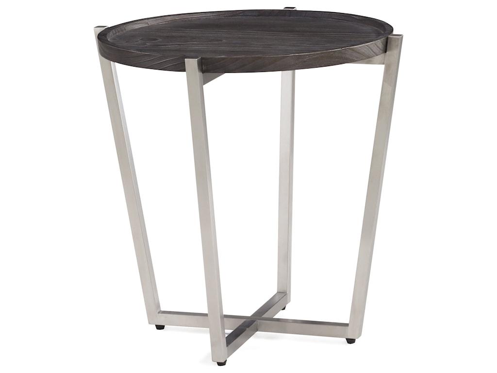 Wynwood, A Flexsteel Company PlatformRound Lamp Table