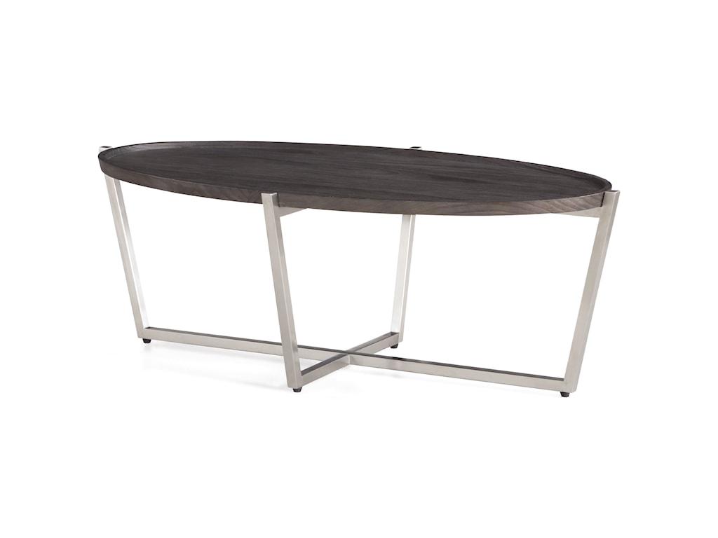 Flexsteel PlatformOval Cocktail Table