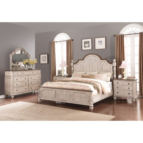 Plymouth Queen Size Bed