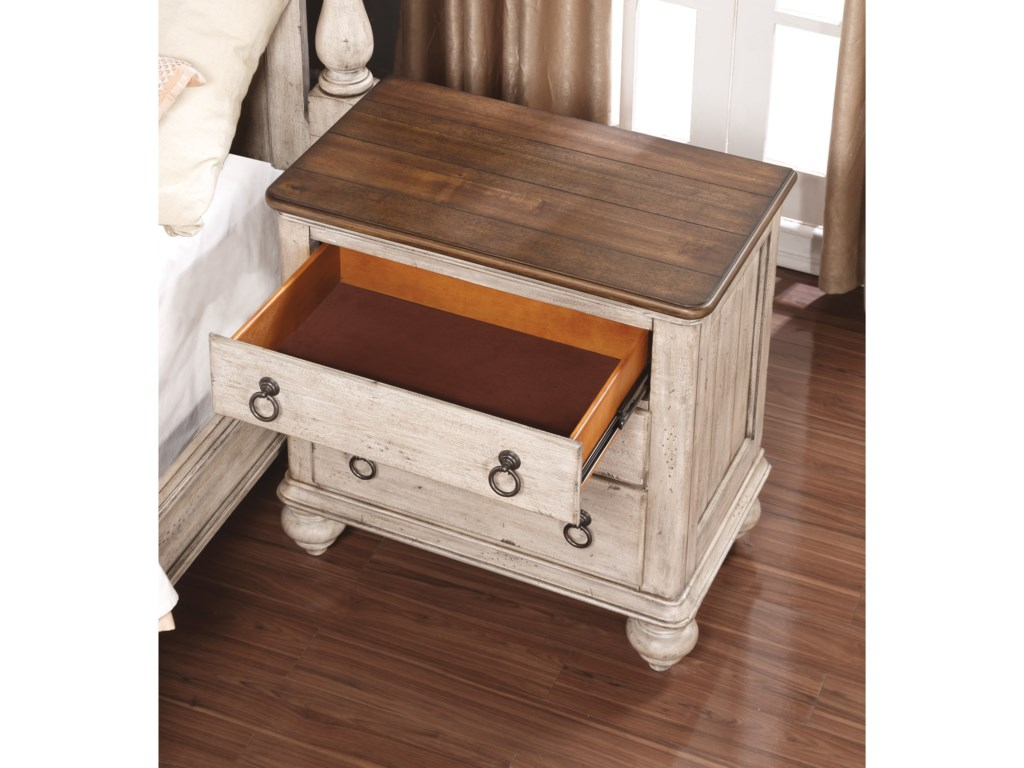 Flexsteel Wynwood Collection PlymouthNightstand