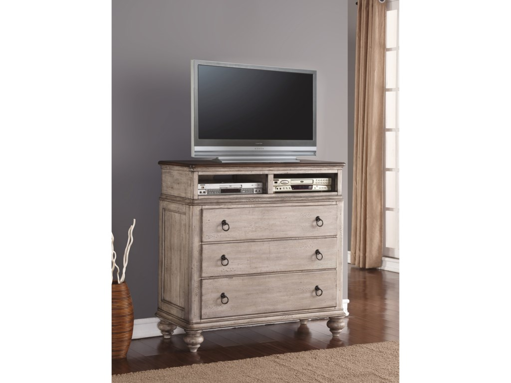Flexsteel Wynwood Collection PlymouthMedia Chest