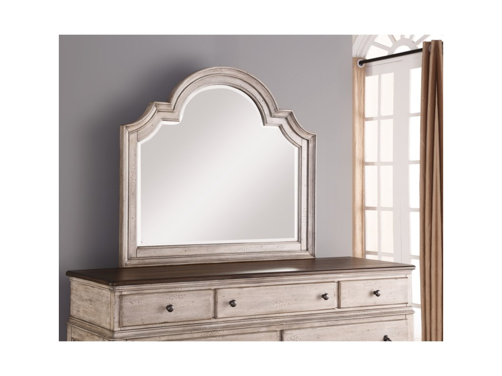 Flexsteel Wynwood Collection PlymouthDresser Mirror